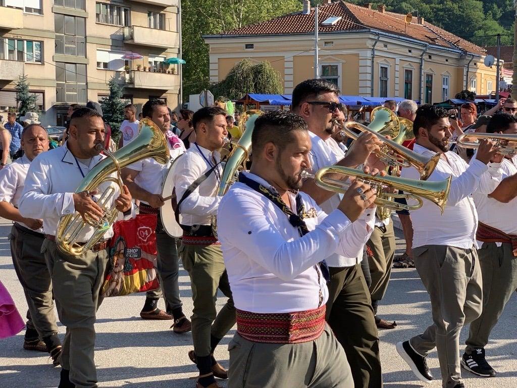 Trumpet parade