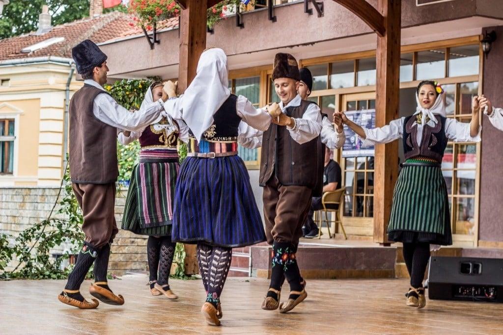 Traditional Serbian dancing