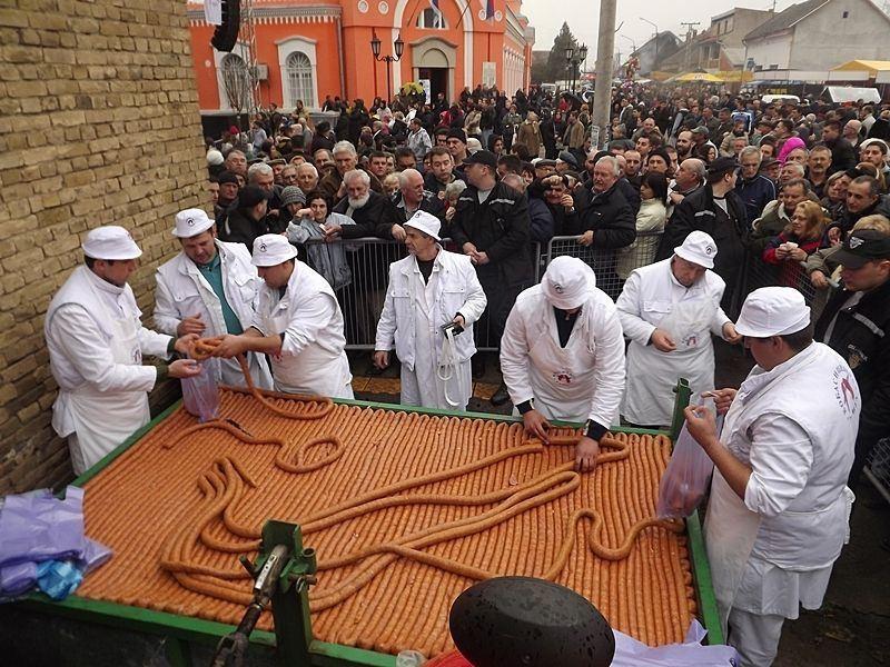 Food Festivals In Serbia, sausage festival