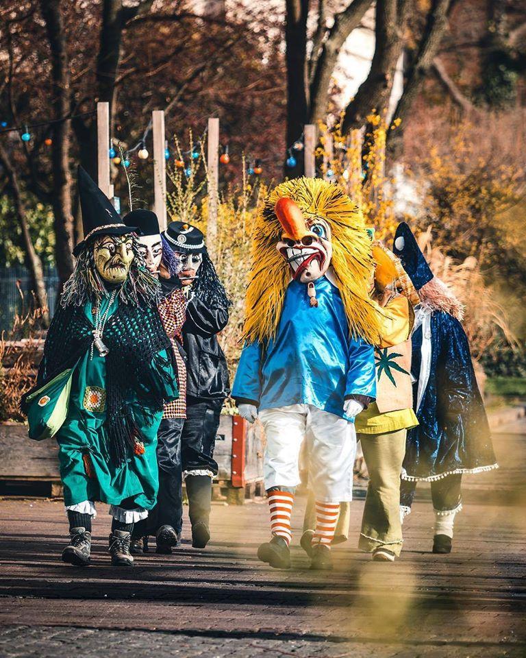 parade at Basel Carnival Fasnacht