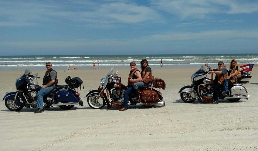 Daytona Bike Week at Daytona Beach