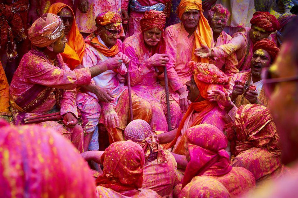 Holi Festival celebration in India