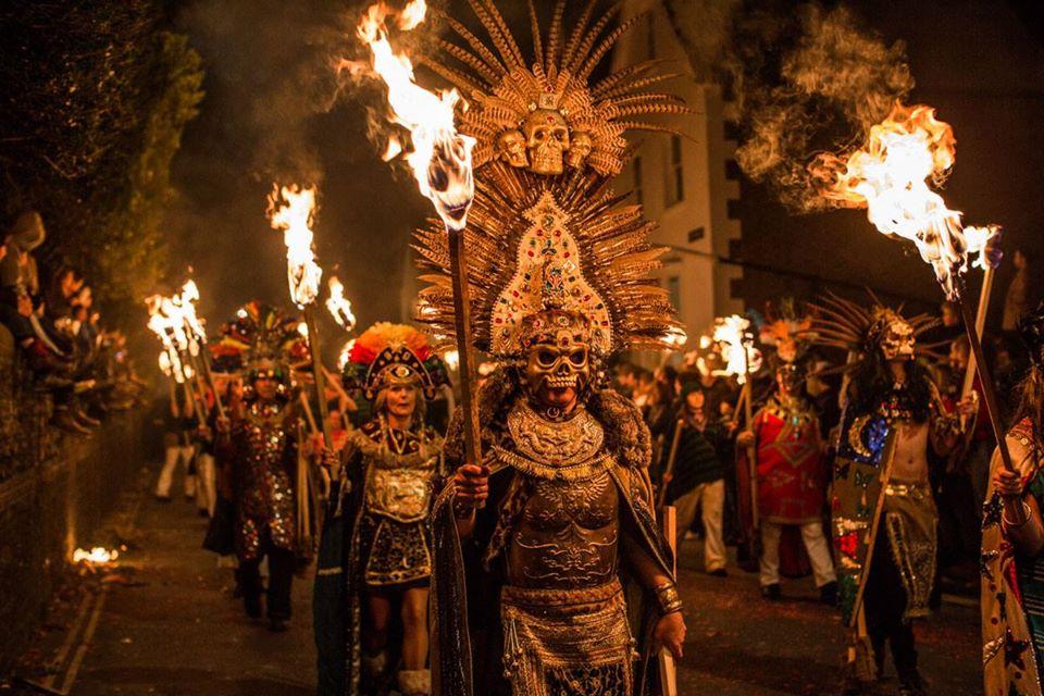 Lewes Bonfire Night 2021