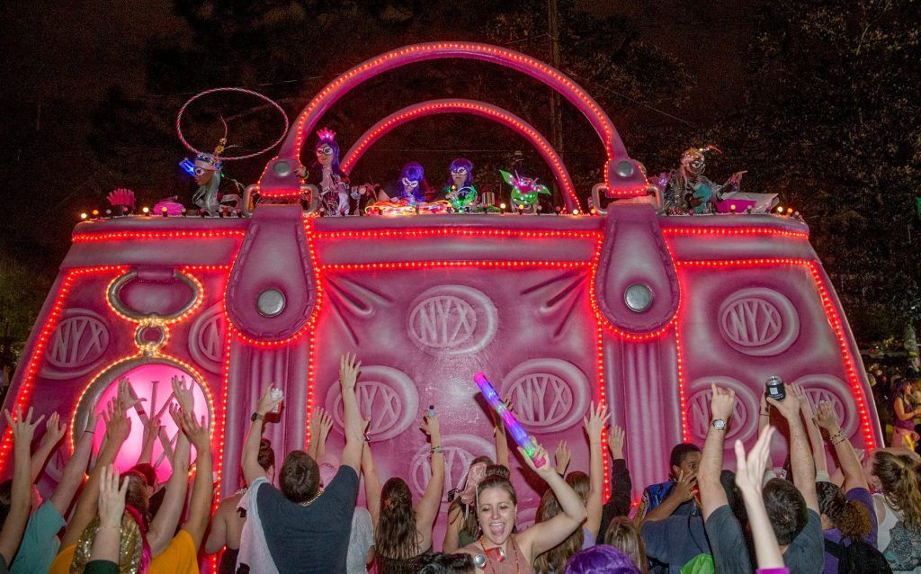 Day and Nights of fun at Mardi Gras New Orleans