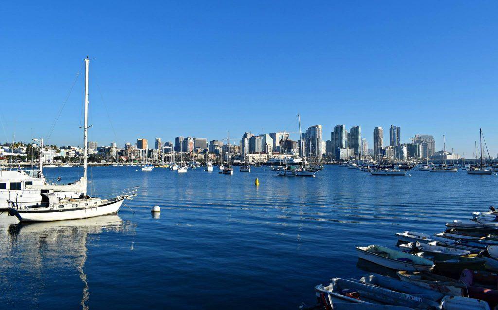 Beautiful San Diego Harbour