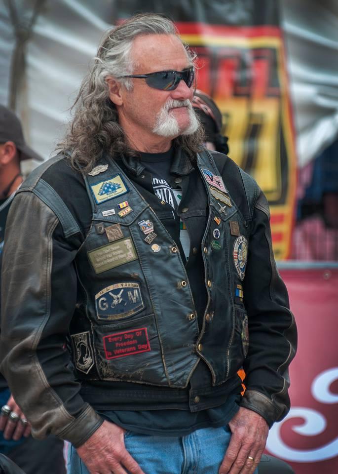 wear leather jacket with some shades at Daytona Bike Week