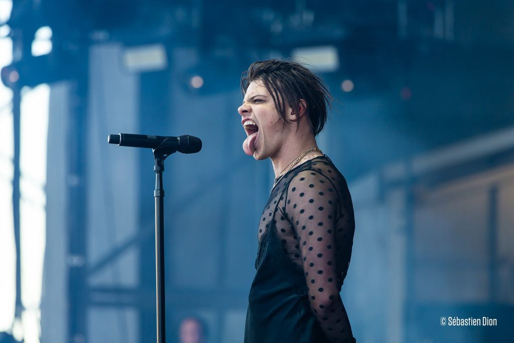Yungblud at Quebec City Summer Festival