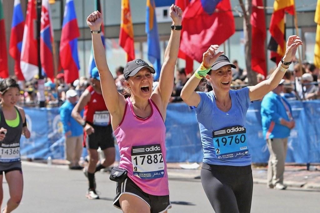 Finishing Boston Marathon