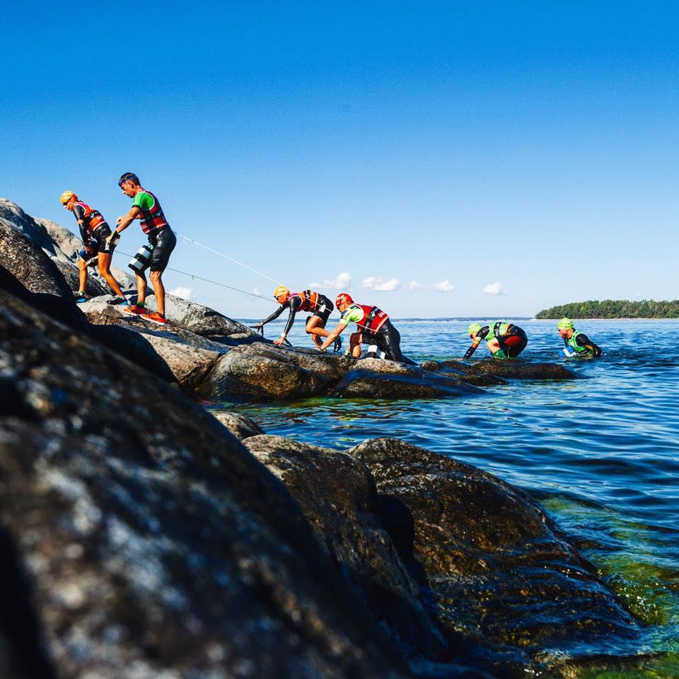 Swim and run at the Otillo Swimrun