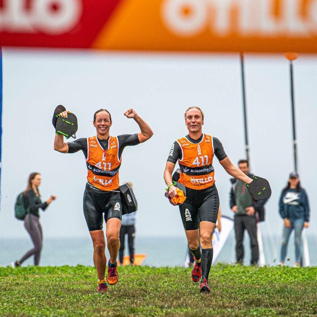 Watch the finish line at the Otillo Swimrun