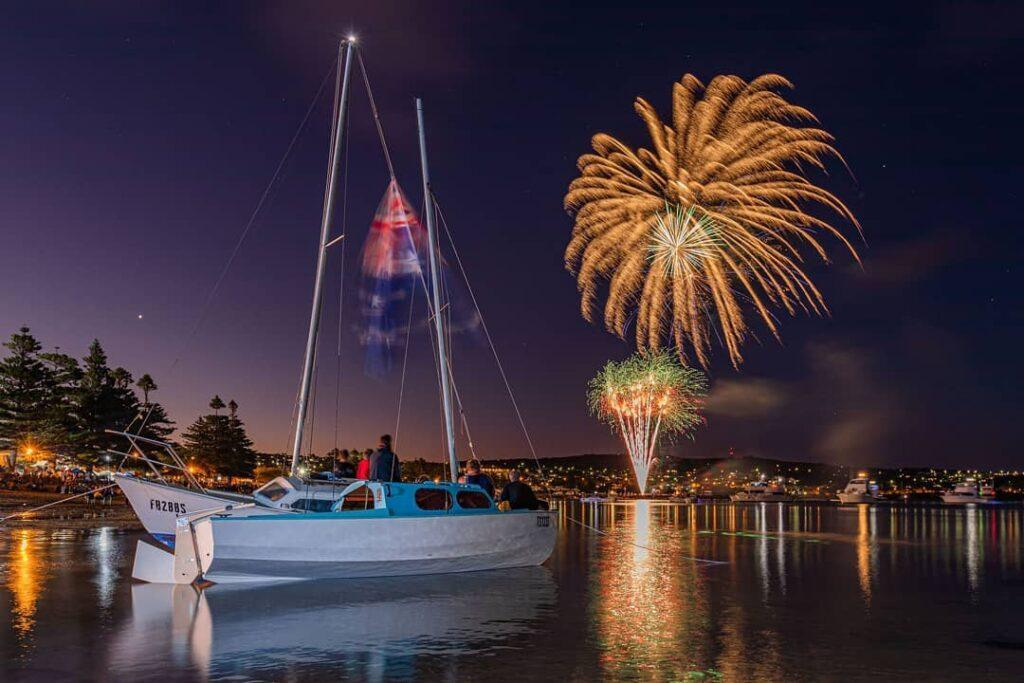 Fireworks Display in Port Lincoln