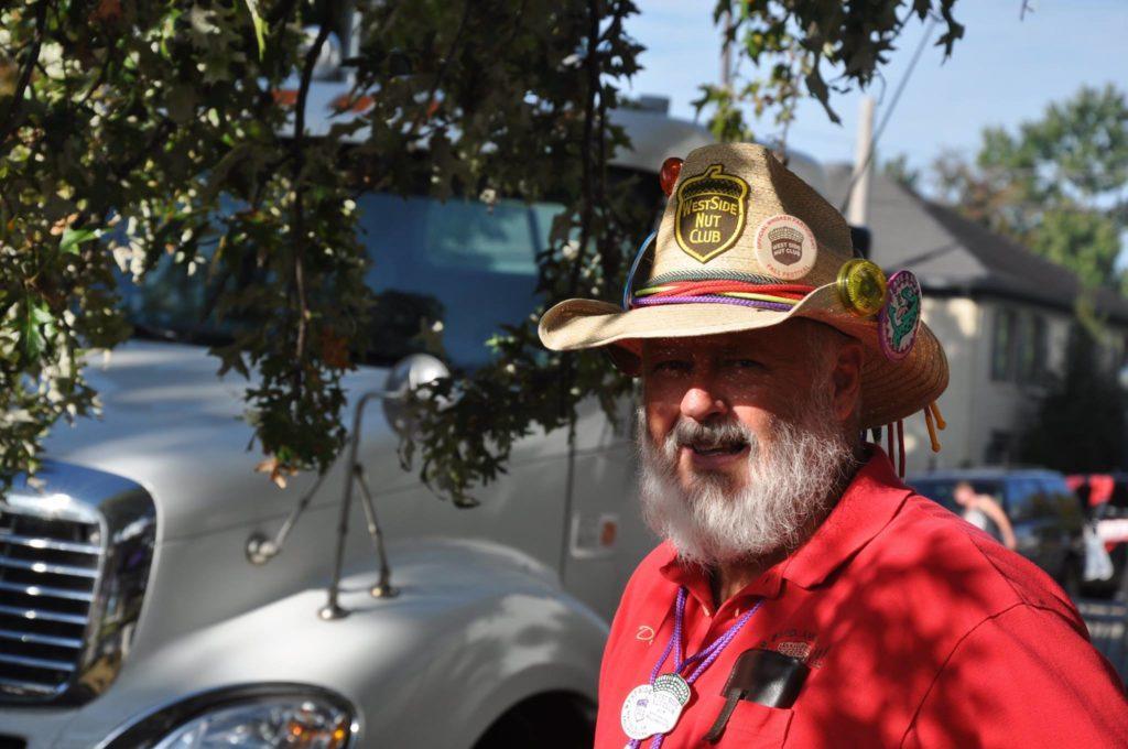 West Side Nut Club Fall Festival visitor