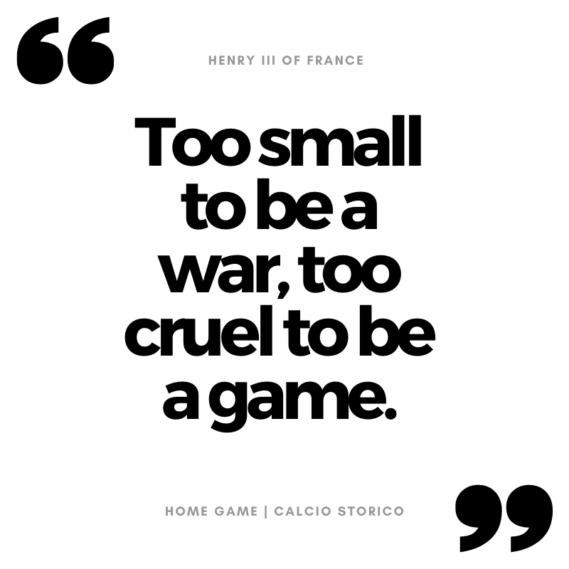 Too small to be a war, too cruel to be a game.