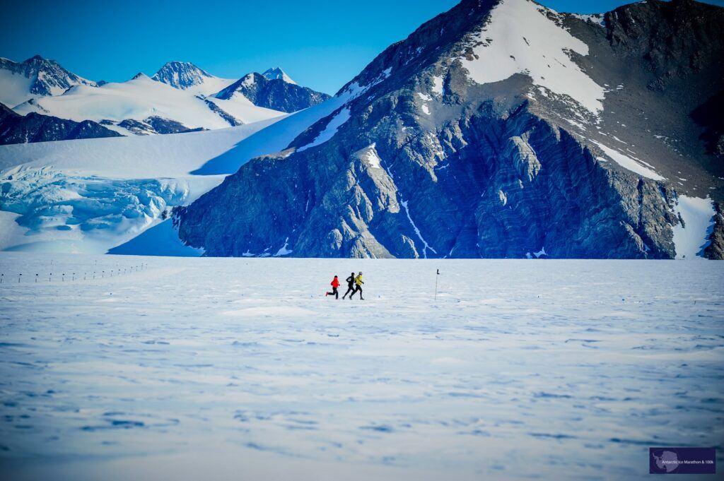 running across ice