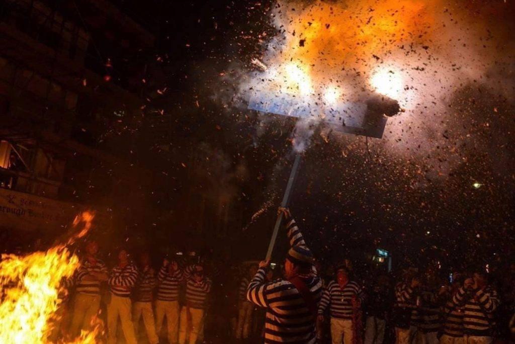 lewes bonfire on November 5th