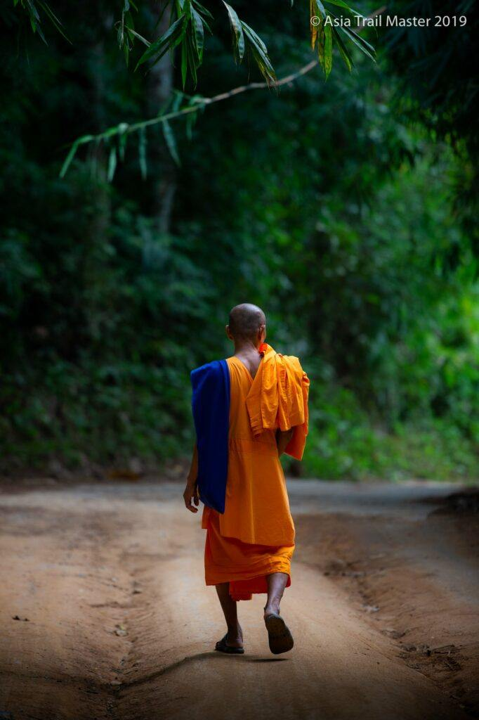 See monks in Chiang Rai