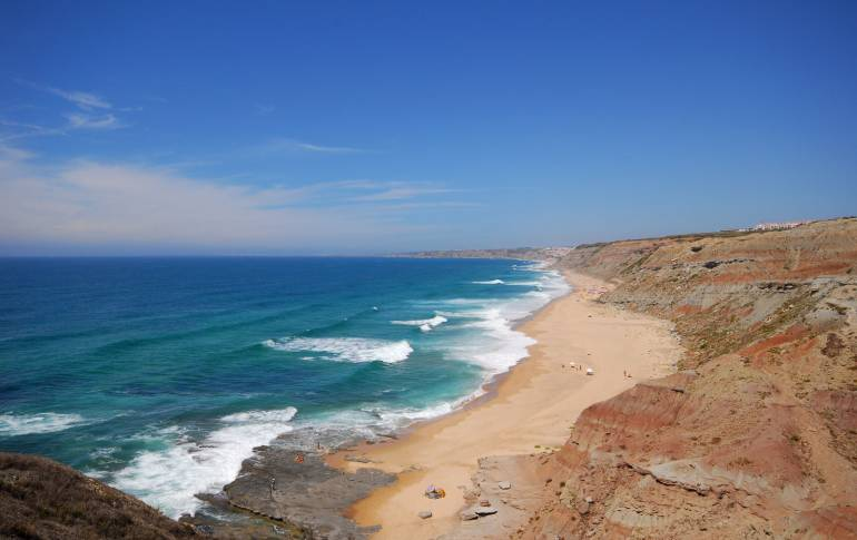 Portugeuse coastline best surf beaches in Portugal