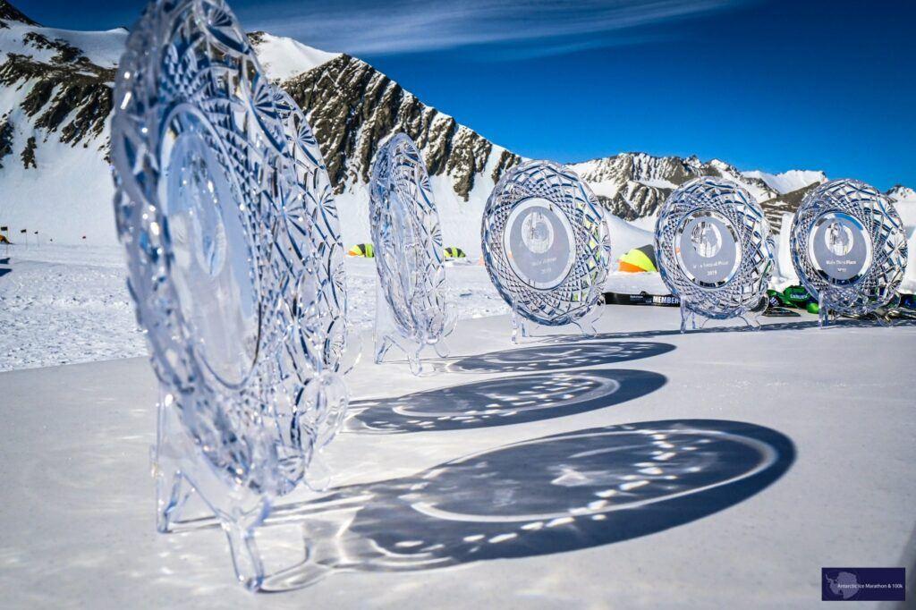 prizes winning Antarctic Ice Marathon