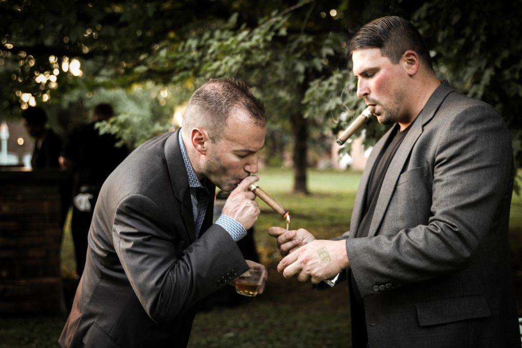 """If I cannot drink Bourbon & smoke cigars in heaven, I shall not go"" - Mark Twain"