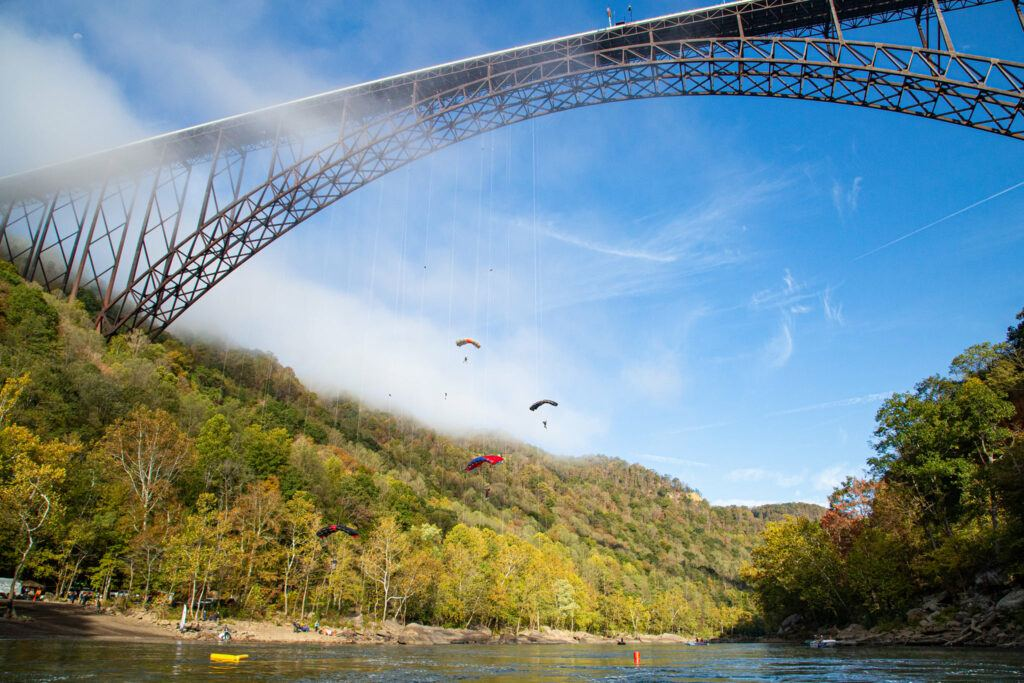Bridge Day at the New River Gorge