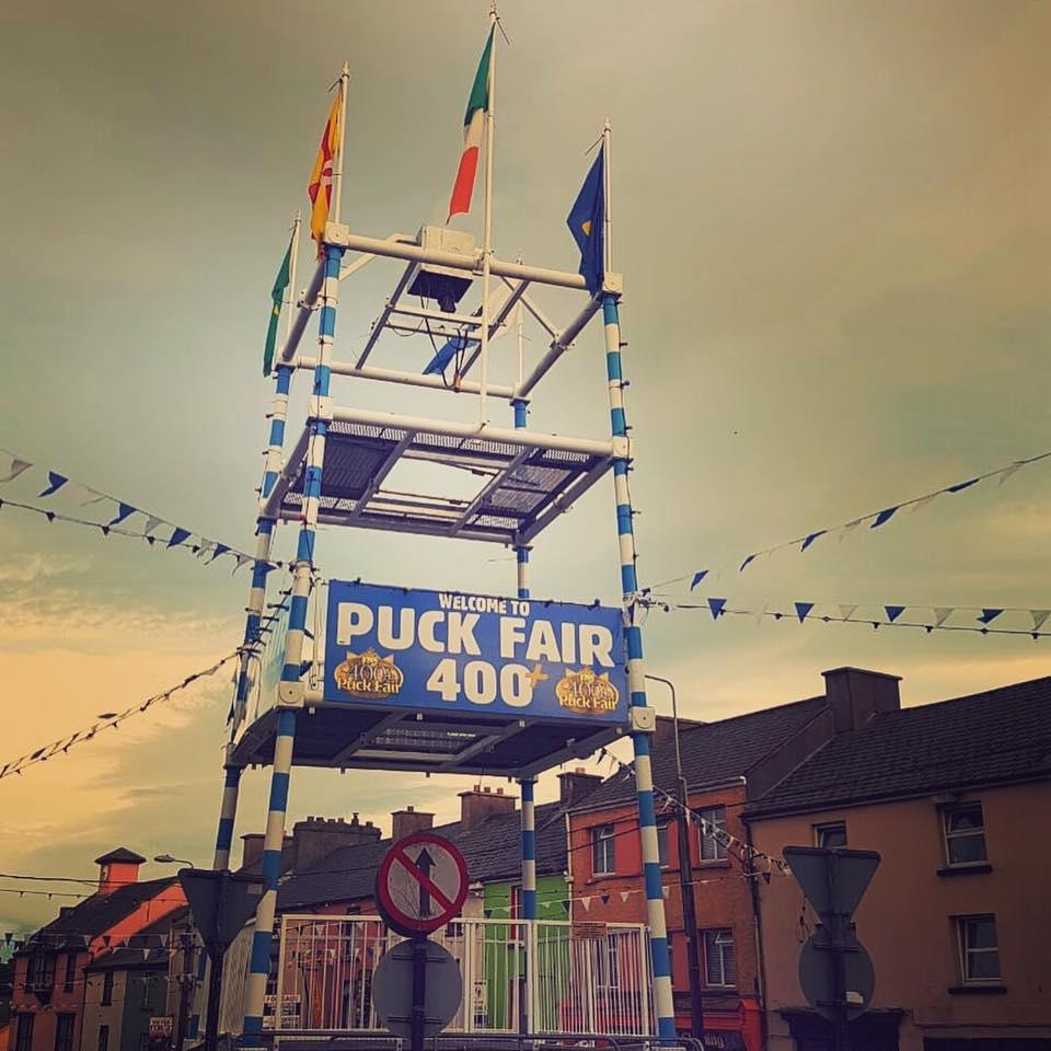 Puck Fair tower
