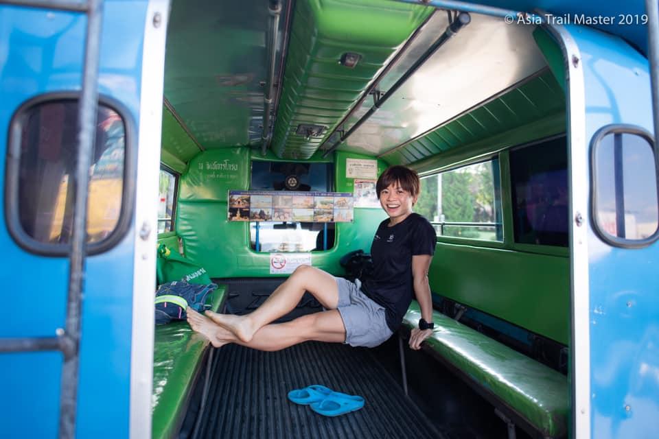 Transport at the Ultra Trail Chiang Rai