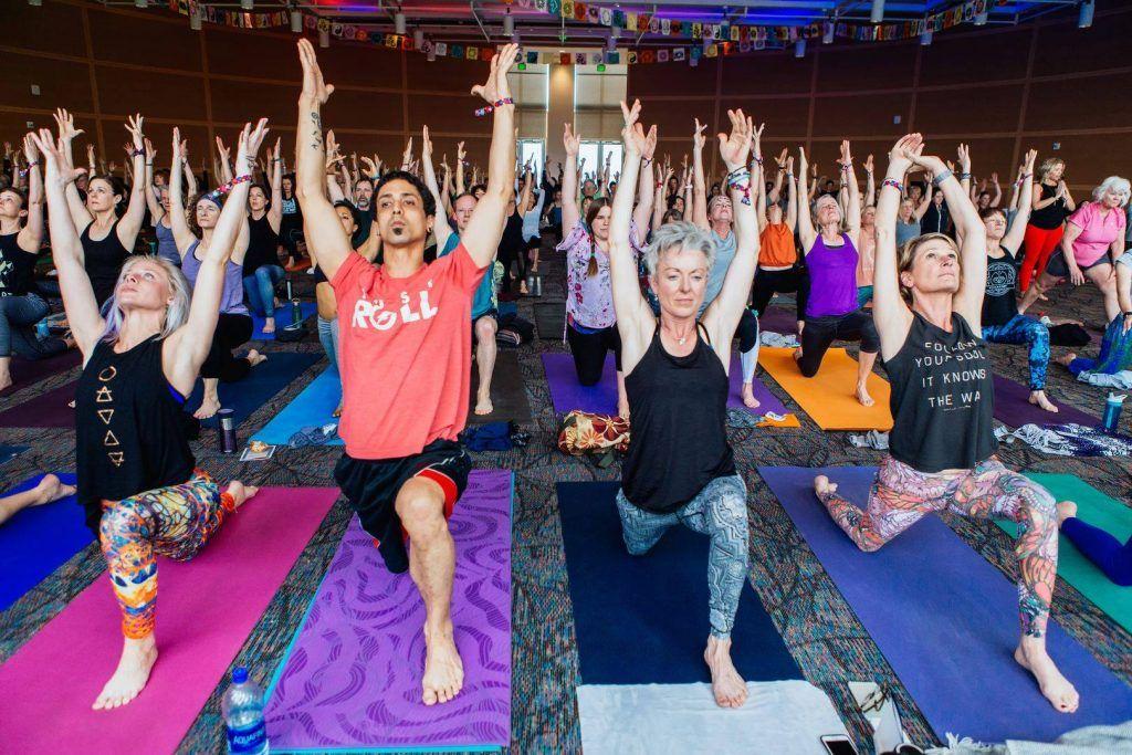 Yoga at Treefort