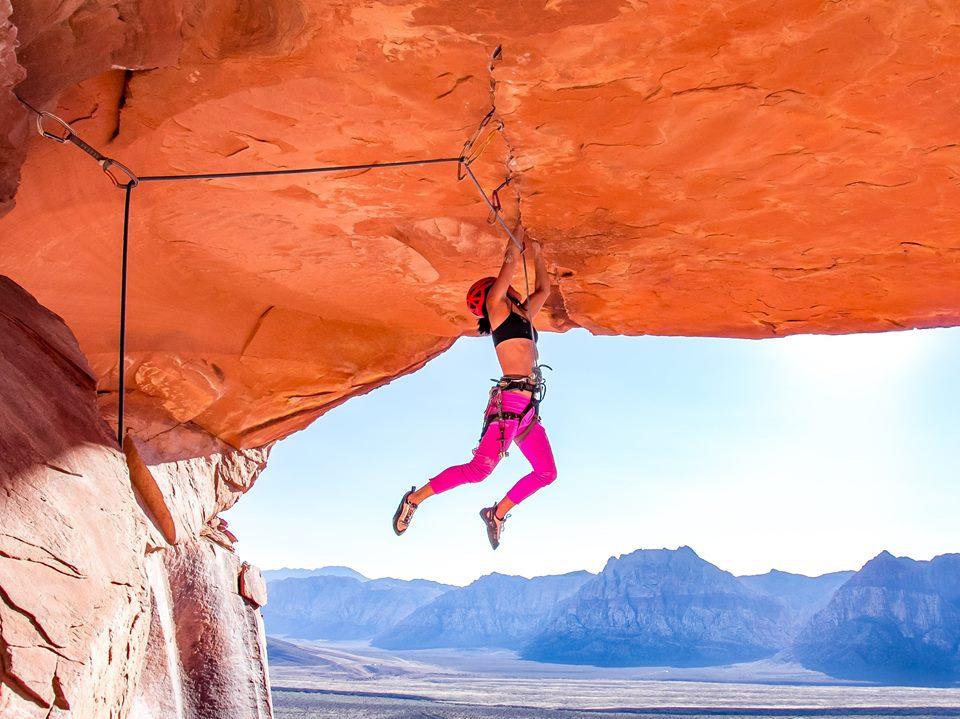 Fotografia d'arrampicata: come cavolo l'hanno scattata quella foto!? Climber-Kathy-Karlo