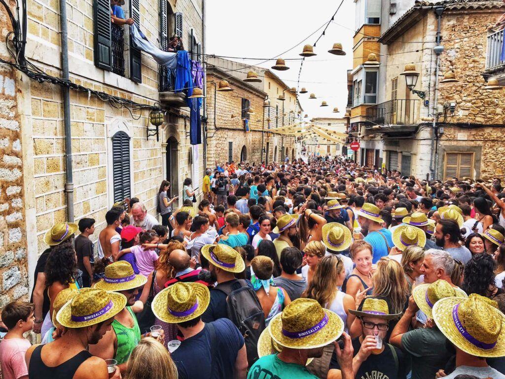 Festa des Vermar in September in Mallorca