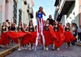 San Sebastian Street Festival in Puerto Rico