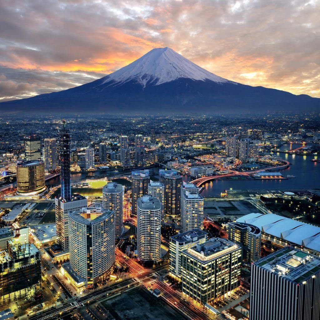 Tokyo and Mount Fuji