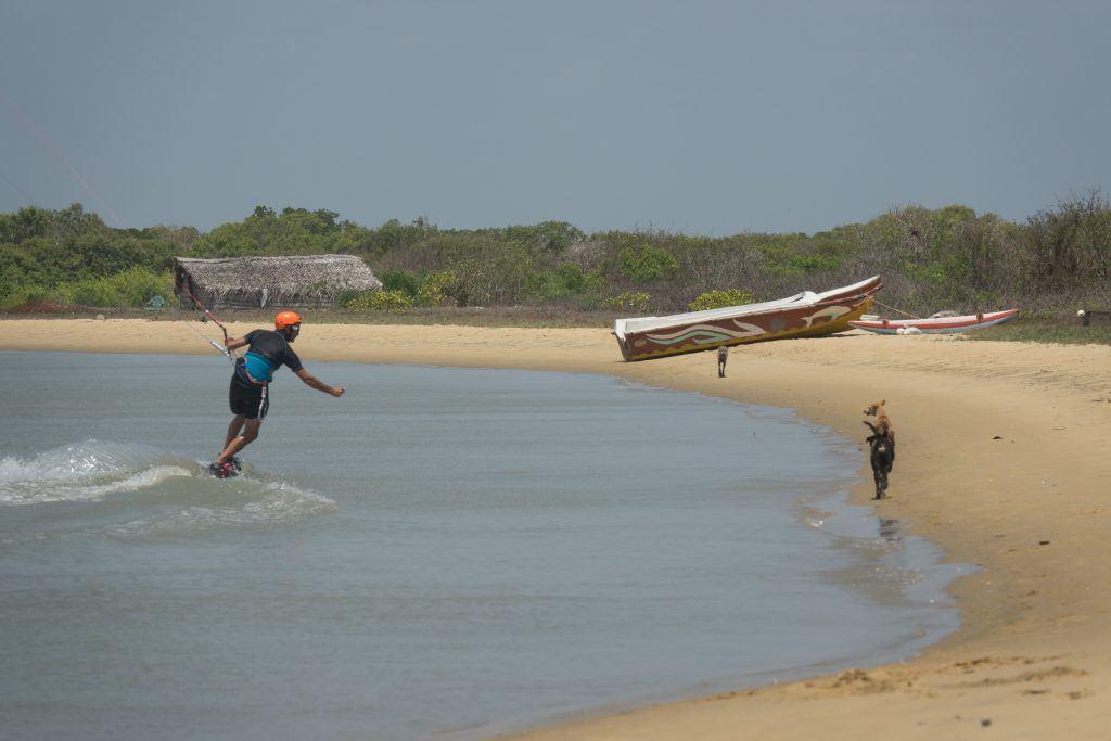 kitesurf Sri Lanka on Ippantivu Island
