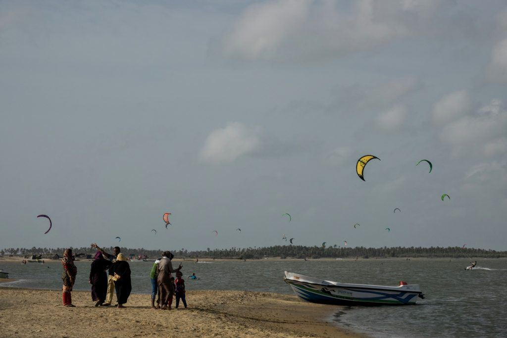Kalpitiya Lagoon kitesurf Sri Lanka