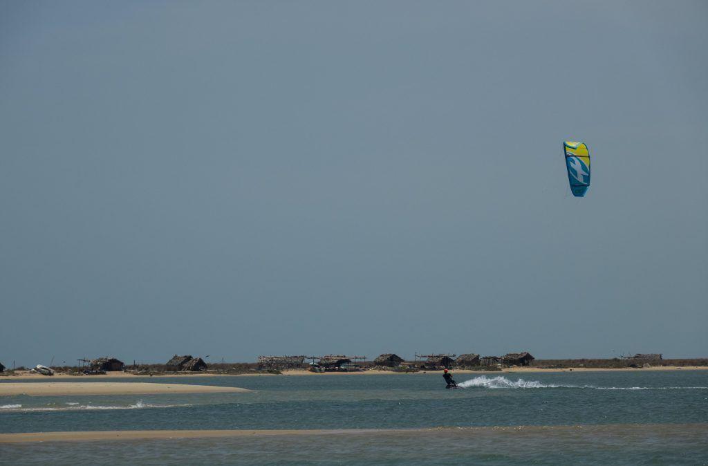 kitesurf Sri Lanka at Vella Island