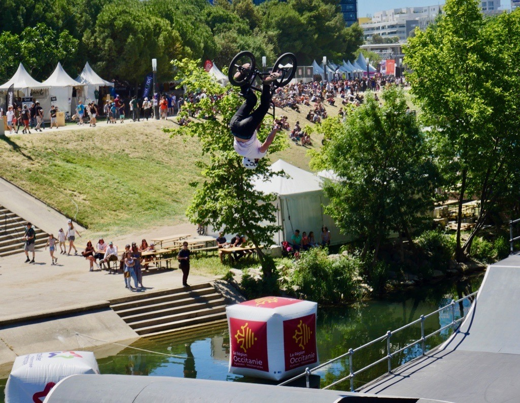Amazing views at FISE