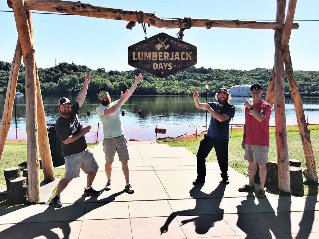 Lumberjack Days in Stillwater, Minnesota