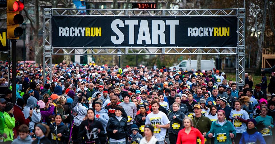 Start of the Rocky Run
