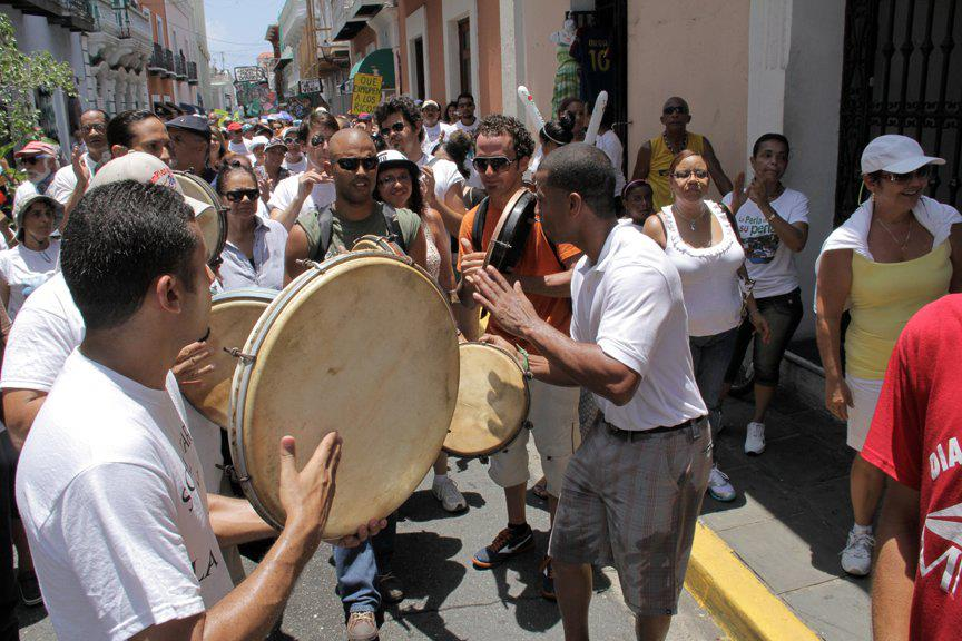 Music in the streets of Puerto Rico