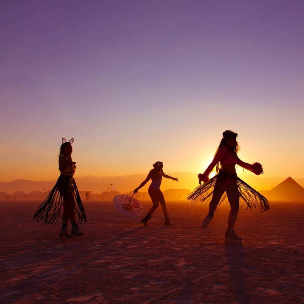 Burning Man Dancing is like medicine for the soul.