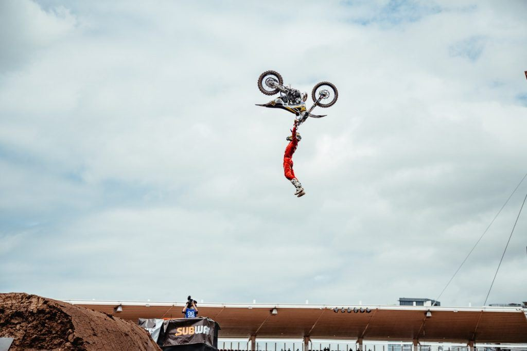 X Games Sydney Best trick moto x