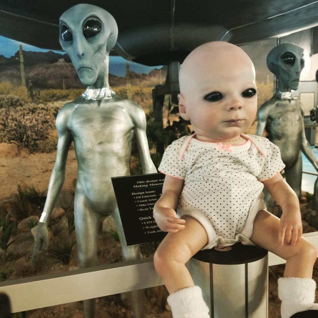 Watch out for the alien baby
