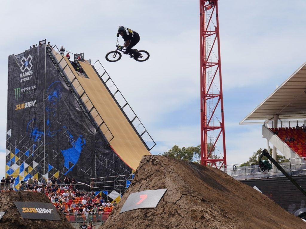 BMX Freestyle Dirt Final X Games Sydney