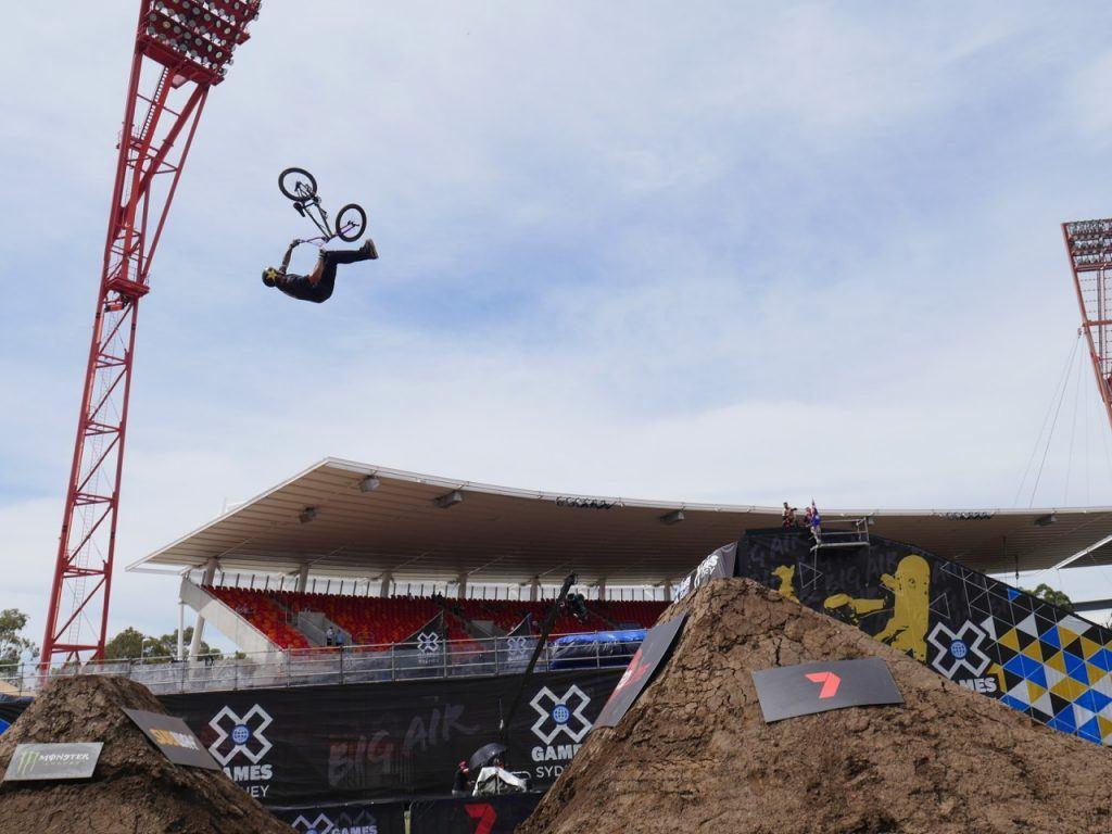X Games Sydney BMX Freestyle Dirt X Games