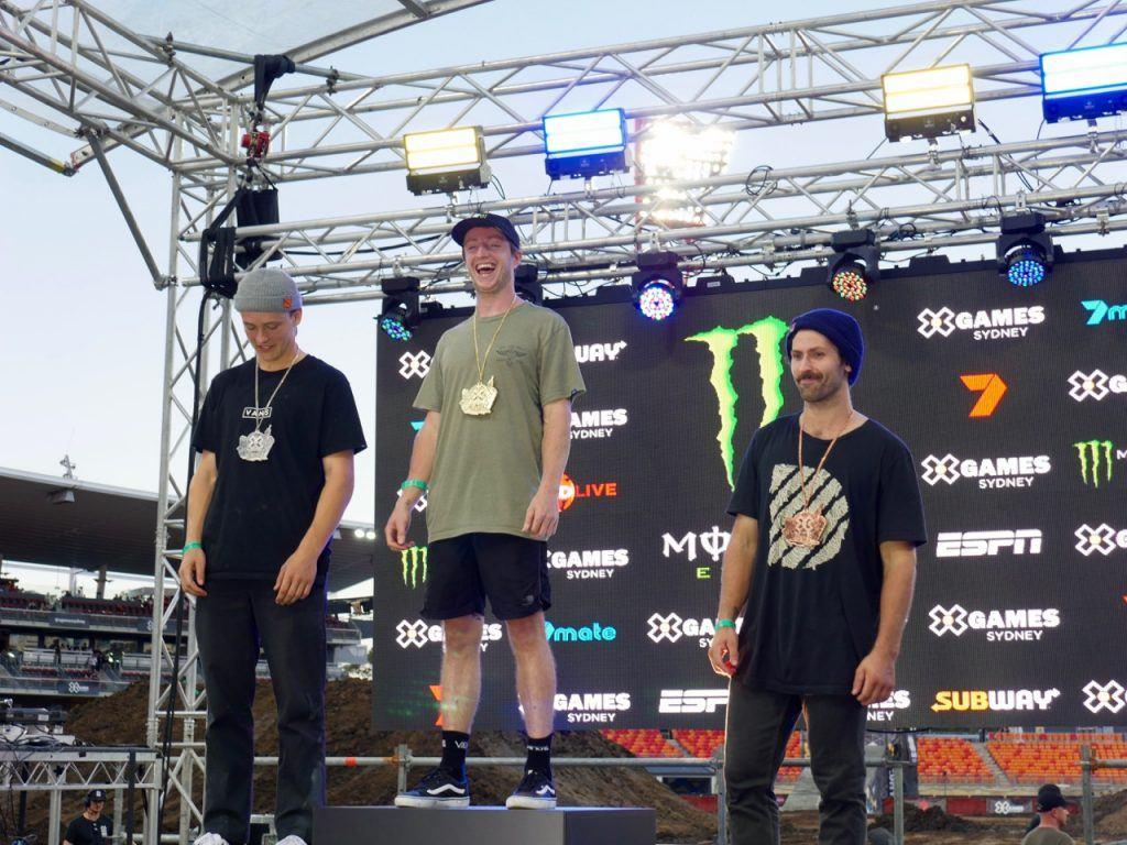X Games Sydney BMX Street Final Winners
