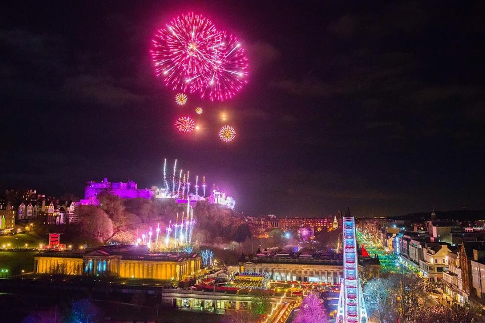 New Year's Eve Hogmanay, Edinburgh