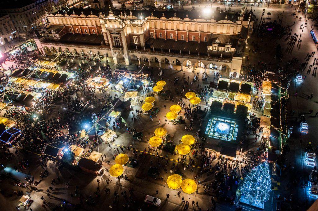 Christmas Festivals Krakow Christmas Market