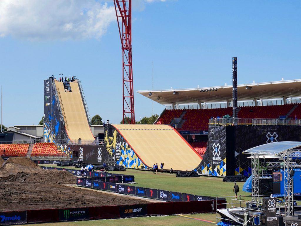 X Games Sydney Mega Ramp
