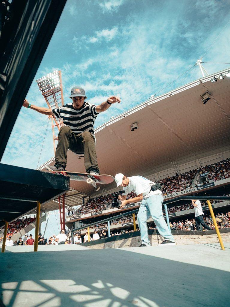 X Games Sydney Men's Skateboard Street Qualifier Grind