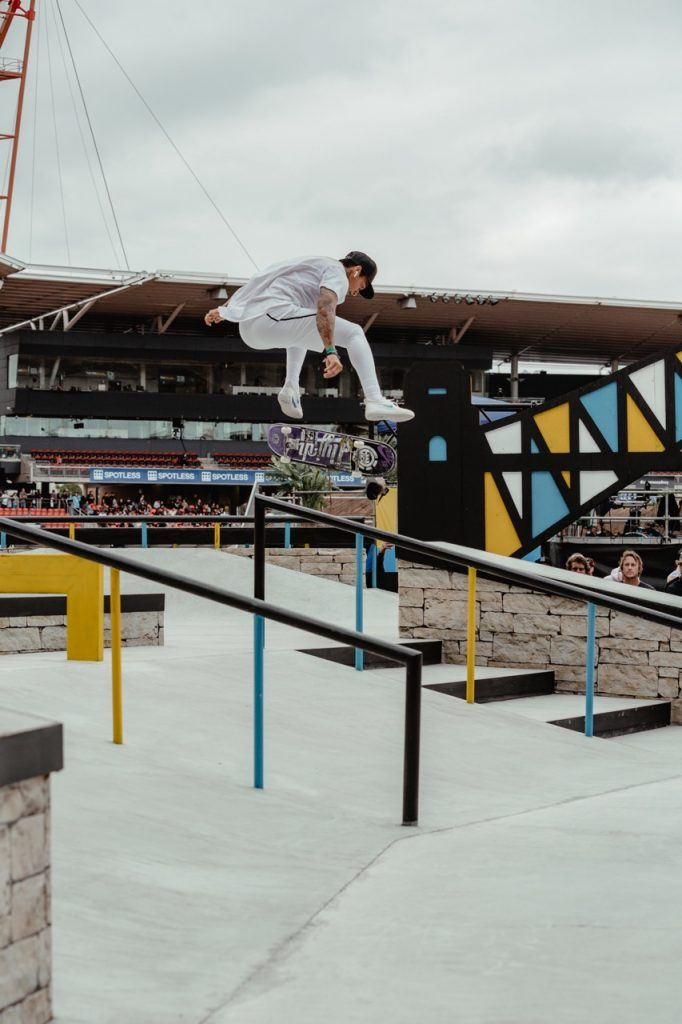 Mens Skateboarding Sydney X Games Nyjah