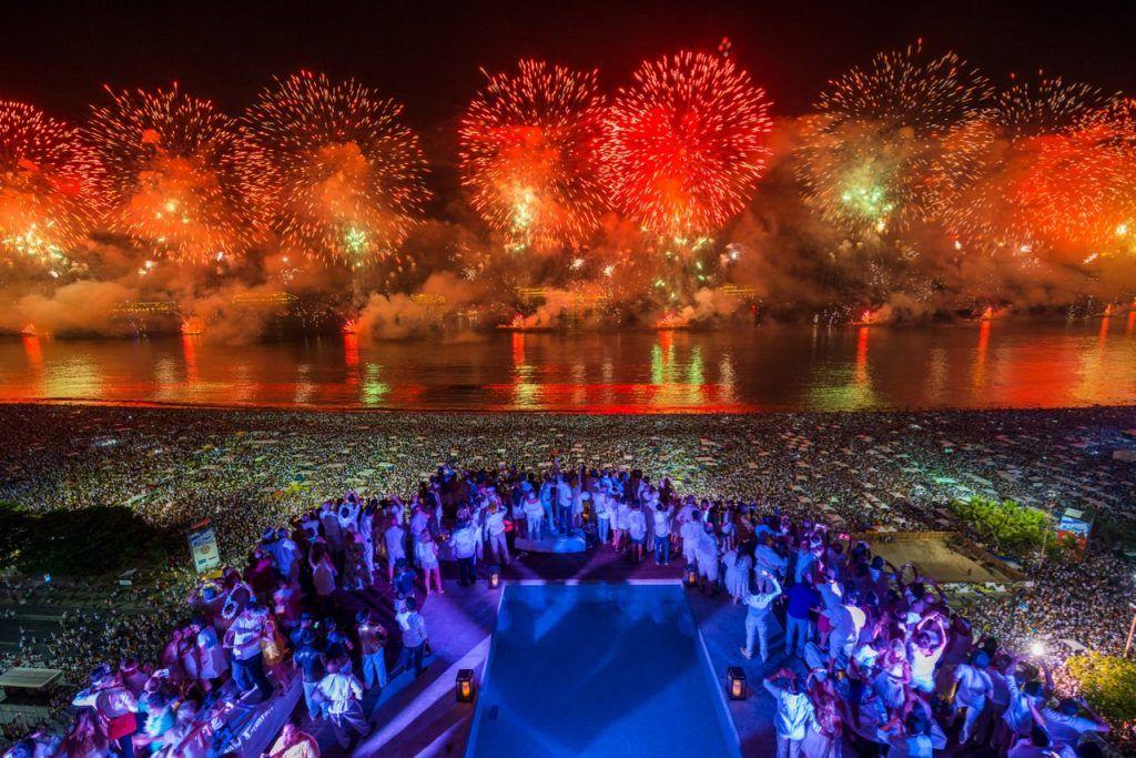 festivals in December New Year in Rio de Janeiro